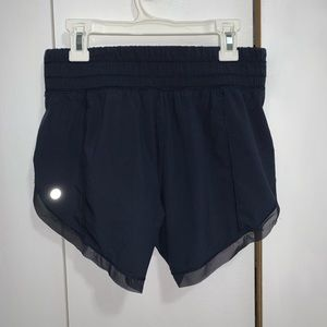 lululemon anew shorts with mesh trim